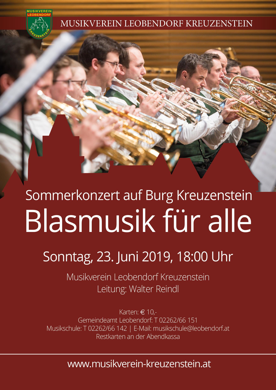 Sommerkonzert auf der Burg Kreuzenstein